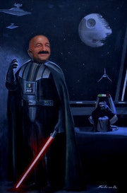 Join the Corrupt side of the Force. Alexander Vallin