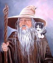 Le chat de Gandalf.
