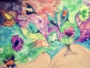 EVE-bébé multicolores.
