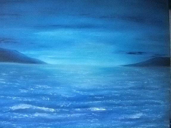 L'appel du large… Le bleu profond des mers du sud ! ! !. Jigée Jigée