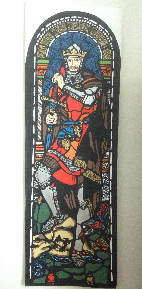 Le roi Robert le Bruce d'Écosse,.  Pino Didier