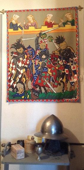 Codex Manesse medievale.  Pino Didier