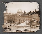 Yerushalaim » la ville sainte» (jerusalem) sous la neige.