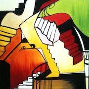 Stairs. Naima Allouani