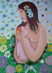 Amor maternal. Antonio Quero