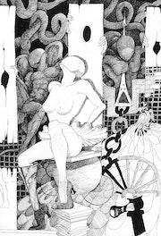 La Roue Folle - Titre original «The Crazy Wheel».