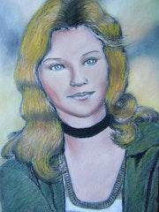 Portrait d'Antoinette (18 ans).