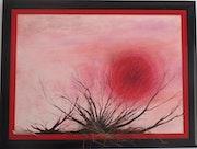 Soleil rouge de la série Renait Sens.