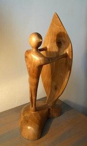 Regard vert - sculpture 68.