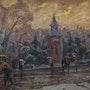 Rainy day in the city. Vasily Belikov