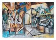 Komposition v, 2003. Hulusi Halit