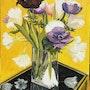 Anemones et tulipes. Philippe Negre