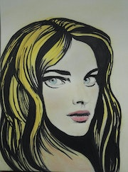 Personnage Style Andy Warhol. Mimi