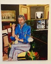 Gainsbourg chez lui.