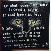 Le chat poétique.