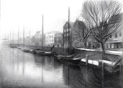 Rotterdam - Delftshaven - 31-03-17. Corné Akkers Kunstwerken