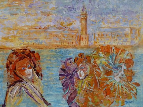 Carnaval à Venise. Mengozzi Mengozzi