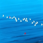 Course en mer Vendée monde.