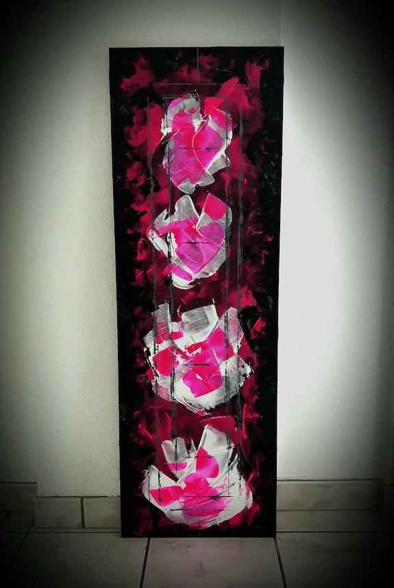 Rose in black. Redkoma Redkoma