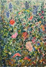 Flourishing garden. Maryna Weber