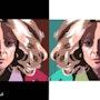 2015-08-13 Michèle 80-Pop Art. Jpg. Michel Normand