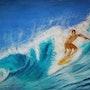 Le surfeur. M-j m