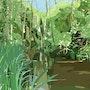 2015-08-17 Un étang quelque part. Jpg. Michel Normand
