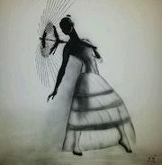 La danseuse et l'ombrelle. Franck Mabriez
