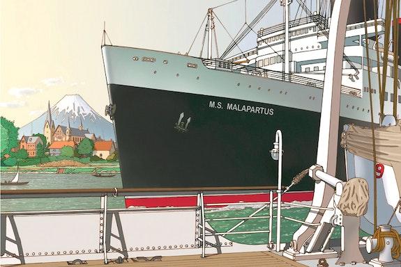 Ms. Malapartus. Horst Bernd Baerenz-Cao Illustration & Illusion