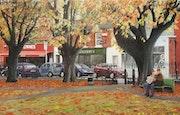 The Village Green, sandymount, Dublin, Ireland. David Donnelly