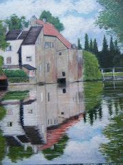 Vieux moulin sur le grand Morin.