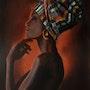 African woman. Marta Valášková