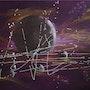 «Purple space». Katty Perdriolle
