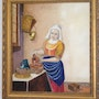 The Milk maid after Vermeer. Patrick Hickey