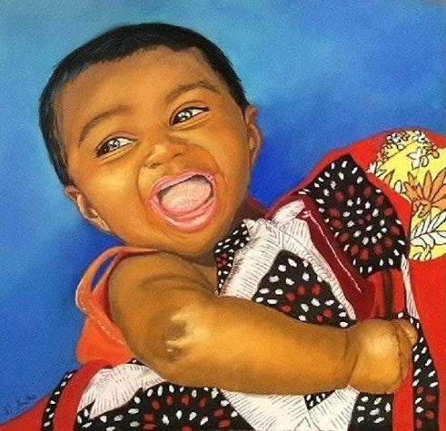 Bébé du Bangladesh. Nathalie Mailhes Nathalie Mailhes