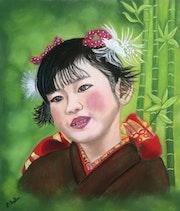 La petite Japonaise.