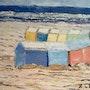 Cabines de plage du Nord de la France. Marie Agnès Leleu