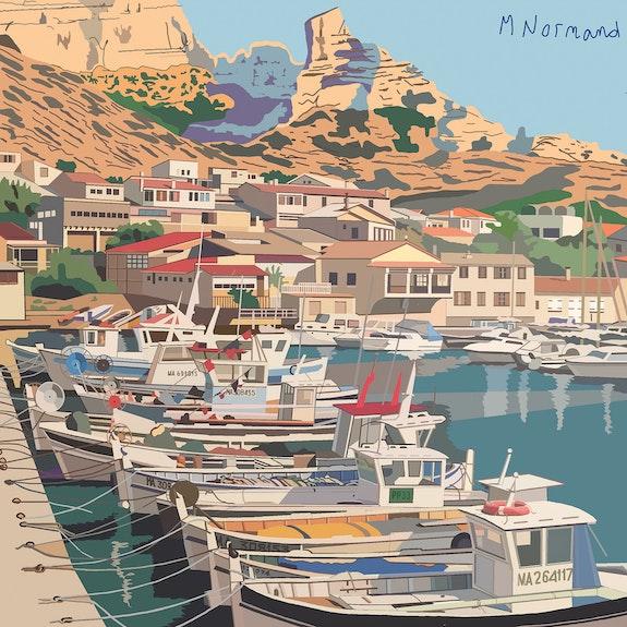 2015-11-25 Marseille-calanque Les Goudes. Jpg. Michel Normand