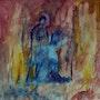 Fresque a pompei. Jacques Donneaud