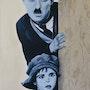 Charlie Chaplin (The Kid). Régine Guthmann