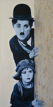 Charlie Chaplin (The Kid).