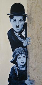 Charlie Chaplin (The Kid).