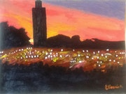 Marrakech by night.