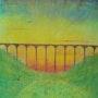 Sunset at Castle Eden Viaduct. George Hutton Hunter