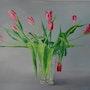 Tulipes roses. Jocelyne Morisson