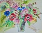 Anemones. Ingrid Neuhofer Dohm