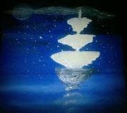 Le vent dans les voiles. Kärina Artiste Peintre