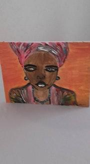 Femme africaine. Mirella