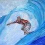 Surf n°1. Nathalie Vareille Sorbac