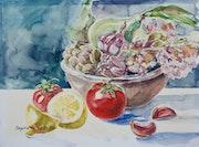 Still Life with Lemon. Ingrid Neuhofer Dohm